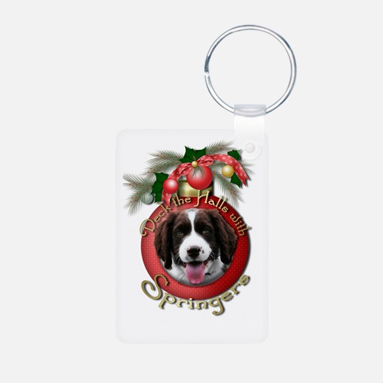 Christmas - Deck the Halls - Springers Keychains