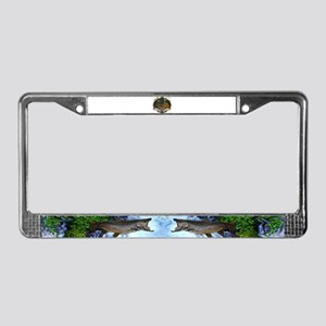 Fly fishing License Plate Frame