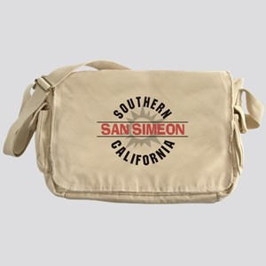San Simeon California Messenger Bag
