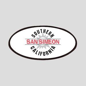 San Simeon California Patches