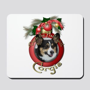 Christmas - Deck the Halls - Corgis Mousepad