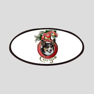 Christmas - Deck the Halls - Corgis Patches