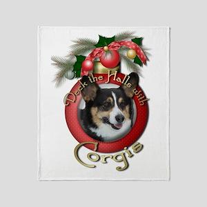 Christmas - Deck the Halls - Corgis Stadium Blank