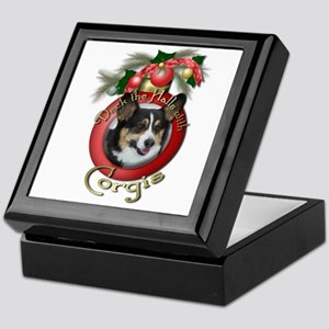Christmas - Deck the Halls - Corgis Keepsake Box
