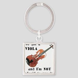 I've Got a Viola Keychains
