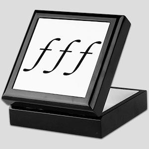 Fortissimo Keepsake Box