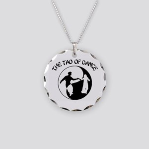 Tao of Dance Necklace Circle Charm