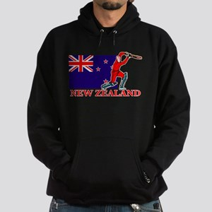 New Zealand Cricket Player Hoodie (dark)