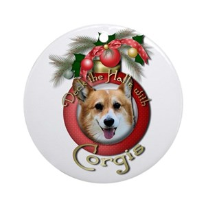 corgi christmas ornaments cafepress - Corgi Christmas Ornaments