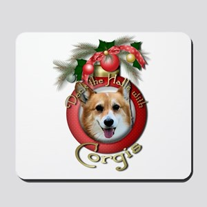 Christmas - Deck the Halls - Corgis Mousepad