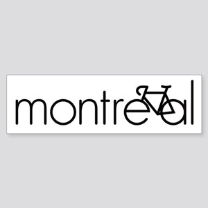Bike Montreal Sticker (Bumper)