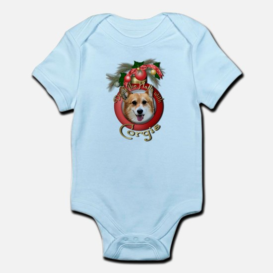 Christmas - Deck the Halls - Corgis Infant Bodysui