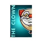 The Clown Rectangle Magnet (100 pack)