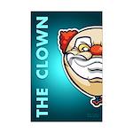 The Clown Mini Poster Print