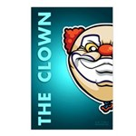 The Clown Postcards (Package of 8)