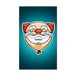 The Clown Sticker (Rectangle)