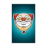 The Clown Sticker (Rectangle 10 pk)