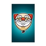 The Clown Sticker (Rectangle 50 pk)