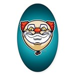 The Clown Sticker (Oval 50 pk)