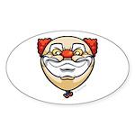The Clown Sticker (Oval)