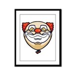 The Clown Framed Panel Print