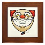 The Clown Framed Tile