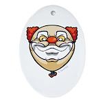 The Clown Ornament (Oval)