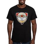 The Clown Men's Fitted T-Shirt (dark)