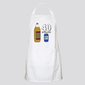 40 is the New 12 Apron