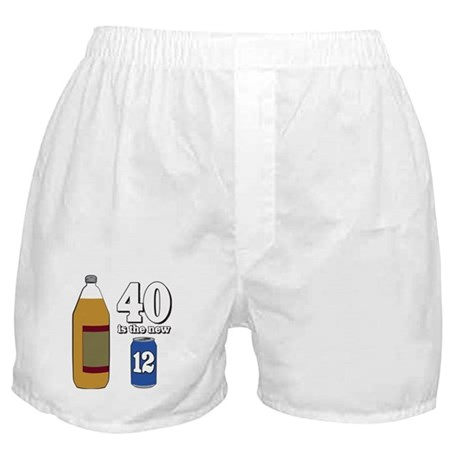 40 is the New 12 Boxer Shorts