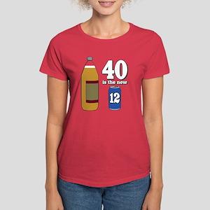 40 is the New 12 Women's Dark T-Shirt