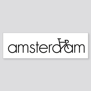 Bike Amsterdam Sticker (Bumper)