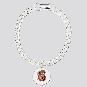 Christmas - Deck the Halls - Chows Charm Bracelet,