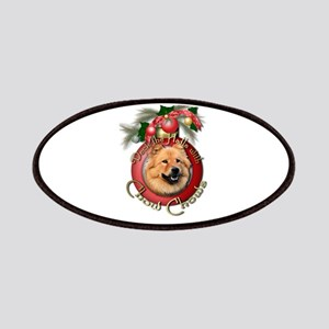 Christmas - Deck the Halls - Chows Patches