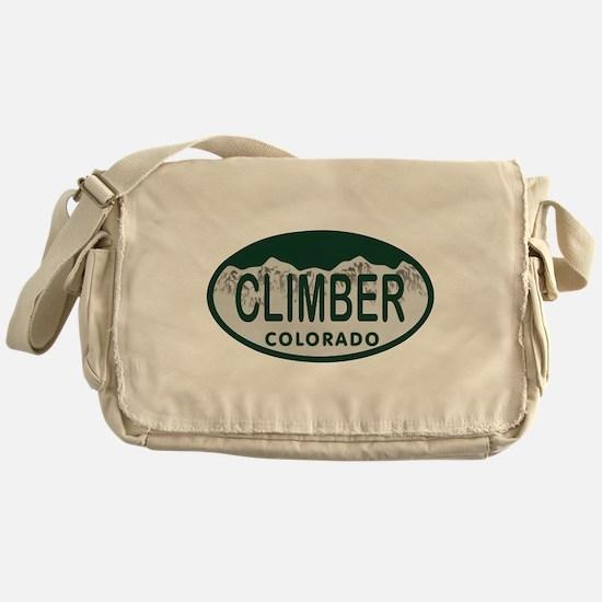 Climber Colo License Plate Messenger Bag
