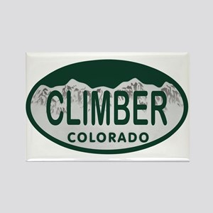 Climber Colo License Plate Rectangle Magnet