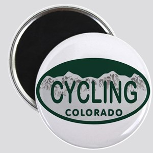 Cycling Colo License Plate Magnet