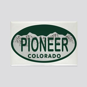 Pioneer Colo License Plate Rectangle Magnet