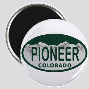 Pioneer Colo License Plate Magnet