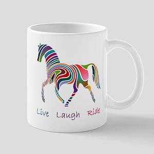 Rainbow horse gift Mug