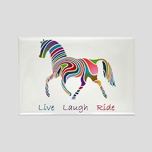 Rainbow horse gift Rectangle Magnet