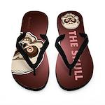 The Skull Flip Flops