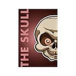 The Skull Rectangle Magnet