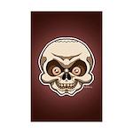 The Skull Mini Poster Print