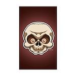 The Skull Sticker (Rectangle)