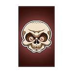 The Skull Sticker (Rectangle 50 pk)