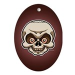 The Skull Ornament (Oval)
