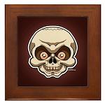 The Skull Framed Tile