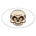 The Skull Sticker (Oval)