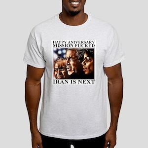 Mission accomplished Ash Grey T-Shirt
